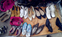 international famous brand shoe second hand shoes clothes in bale 2015