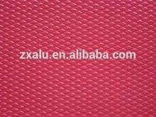 China Gongyi manufacture diamond embossed decorative pattern aluminum sheets