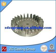 QT500-7 iron cast flywheel for engine parts