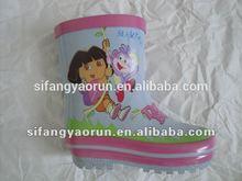 girls wellies rubber rain boots