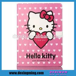 ultrathin fancy case for apple iPad mini hello kitty 2015 new arrival