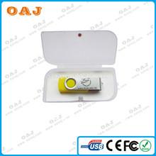 usb flash drive 64gb with key chain and LOGO print