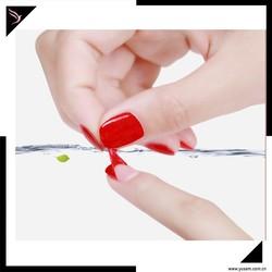 Water based peel off nail polish