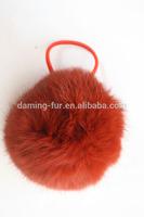high quality rabbit fur tony band