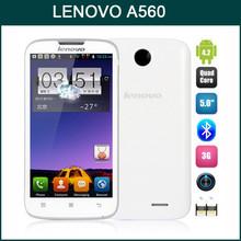 Lenovo A560 Quad Core 4GB ROM Dual SIM Cell Phone 2G 3G Lenovo Smartphone