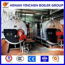 First choice hot sale 3-return structure automatic 2t/h oil heating steam boiler