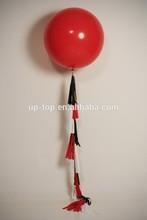 Pink Orange Tassel Garland- 36 Inch Balloon Tassel Garland - Party Decor, Baby Shower, Photo shoot and Wedding De