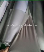 EN471 high light silver grey 4 way stretch reflex fabric