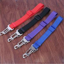 High Quality 4 Colors Safety Pet Belt For Dog Car Travel Safety Seats Belt Clip Leash Belt