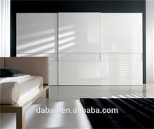 Jisheng embossed plywood panel wardrobe diy design parts_custom made bedroom furniture foshan factory