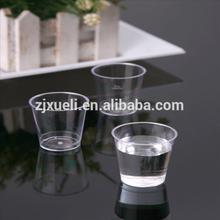 2015 spring disposable plastic shot wine glass