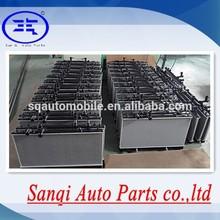 De plástico de aluminio del radiador del coche fábrica