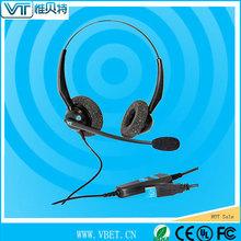 headphone call center advanced ergonomic 2.5mm headset