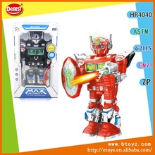 Kids Plastic Robot Kit, Radio Control Mini Robots