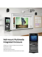 Smart classroom include interactive whiteboard,projector,all in one PC,writing board