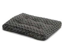 Midwest Quiet Time Pet Bed Deluxe Black Fur Pet Mat
