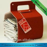 2015 new product high quality cardboard newspaper holder