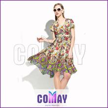 Custom Fitlady New Design Casual Hawaii Style Dress