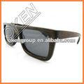 العدسات الفوتوكرومية s-4081 جديدة الخيزران النظارات الشمسية النظارات الشمسية خشب الأبنوس الأسود