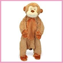 2015 Wholesale Plush Monkey Baby Blanket
