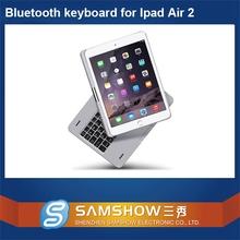 Electronic Keyboard Keys 360 Degreen Rotation Aluminium Bluetooth Wireless Farsi Keyboard For Ipad Air 2 Case/For Ipad 6