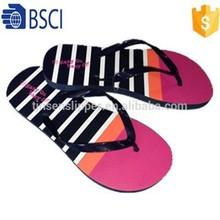 2015 PVC flip flop the most cheapest PE /EVA material PVC women sandal slippers