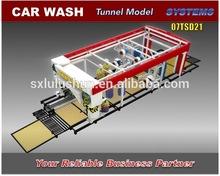 Tunnel Wash System Automatic Car Washing Machine, 7 Brushes Without Dryer, Lulushun 07TSD21