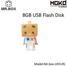 Mr.Box fashion brand innovative gift cartoon character usb flash drive 8gb