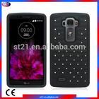 Bling Bling Crystal Phone Cover Mobile Phone Case For LG G Flex 2 LS996 Hybrid Cover w.Spot Diamond