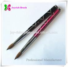 Acrylic brush metal nails supply and beauty