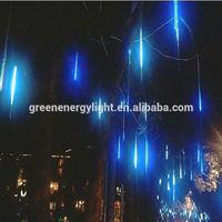 outdoor led falling meteor snow rain drop lights