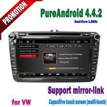 8'' Android car DVD Player with Auto DVD GPS & Bluetooth & Navigator & Radio for VW Magotan Caddy Passat Sagitar Golf