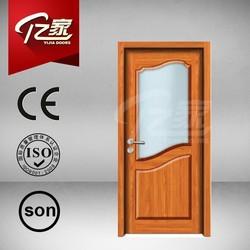 Solid wooden double door designs