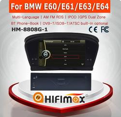 HIFIMAX WIN CE 6.0 Car DVD Player For BMW 5 series E60 E61 E63 E64 2003-2010 Car DVD GPS Navigation System