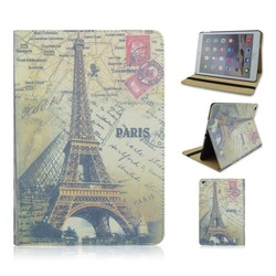 Retro British styleDesign PU Flip Leather Case for iPad Air 2 with Stand