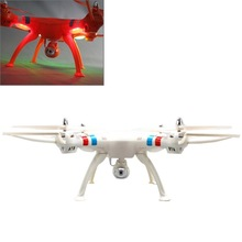 SYMA X8C 4-Channel 360 Degree Flips 2.4GHz Radio Control Quadcopter with 6-axis Gyro / LED / 2MP Camera(White)