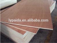 High quality and good price Faced natural oak Veneer hardboard