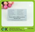 Populaire imprimable haute qualité rfid carte à puce serrure de porte avec bande magnétique