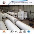 oxígeno líquido de alta presión del tanque con una larga vida de servicio