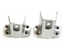 Metal Casting foundry precise casting with lost wax casting mirror & Brush polished glass door accessories