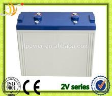super solar battery 2V1500AH for UPS EPS power or wind solar system
