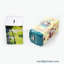 Children favorite square cute money saving boxes