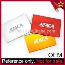 Wholesale Cheap Laser Engraving Custom Logo Metal Business Card Cases