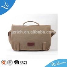 canvas latop bag with shoulder string camera bag simple briefcase computer tool bag