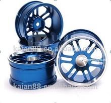 2014 factory direct! 1/10 rc car/model car /toy parts universal aluminium alloy sport wheel rim