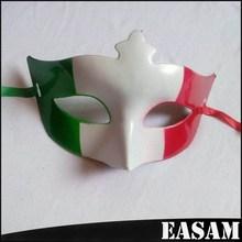 Italian Flag half face carnival masquerade masks