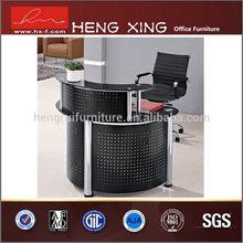 Good quality newly design dark color reception desk