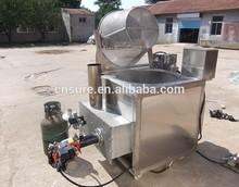 Okra Coated Vegetable Batch Bucket Fryer Frying Machine System
