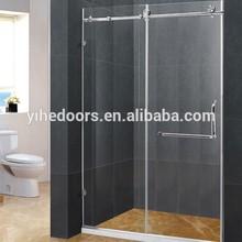 Exquisite smart glass shower door