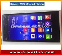 Original Xiaomi Mi3 M3 Qualcomm Quad Core Mobile Phones 2GB RAM 64GB ROM 5 inch 1080p 13MP WCDMA GPS Android 4.4 MIUI 6 Goldway